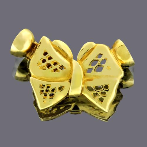 Tuğrul Kuyumculuk Kurdela Modeli Altın Klips 15