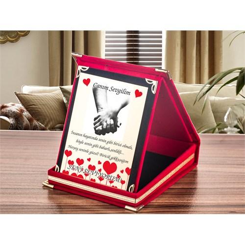 7/24 Hediye Sevgiliye Hediye Özel Plaket Ödülü
