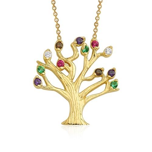 Altınsepeti Altın Dilek Ağacı Kolyesi As920kl