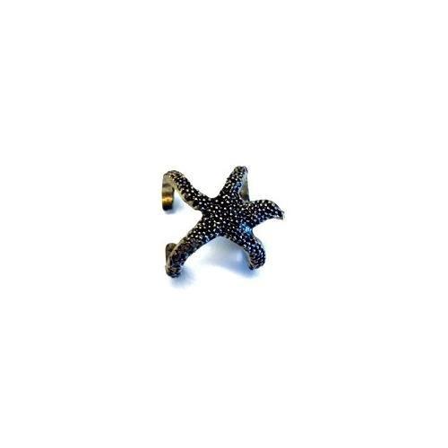 Betico Fashion Bronz Denizyıldızı Yüzük