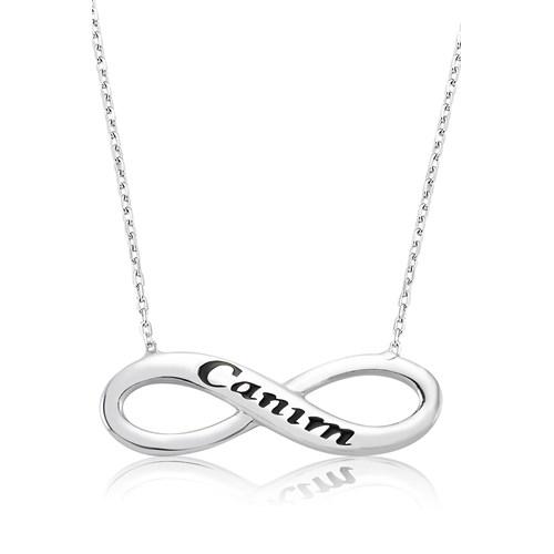 Olivin Accesories Gümüş Canım Sonsuzluk Kolye 432833