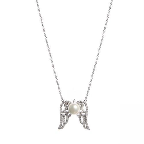 Aşina Gümüş Angel Melek 925 Ayar Gümüş Kolye