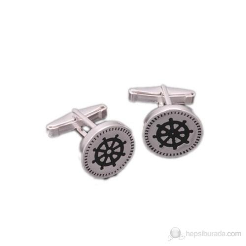Gumush 925 Gümüş Klasik Kol Düğmesi Cfl94121008