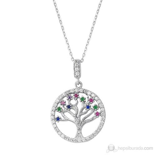 Silver & Silver Hayat Ağacı Kolye