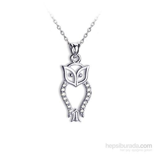 Ejoya Baykuş Gümüş Kolye