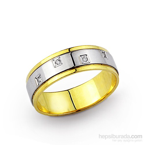Ejoya Altın Alyans Wr00060