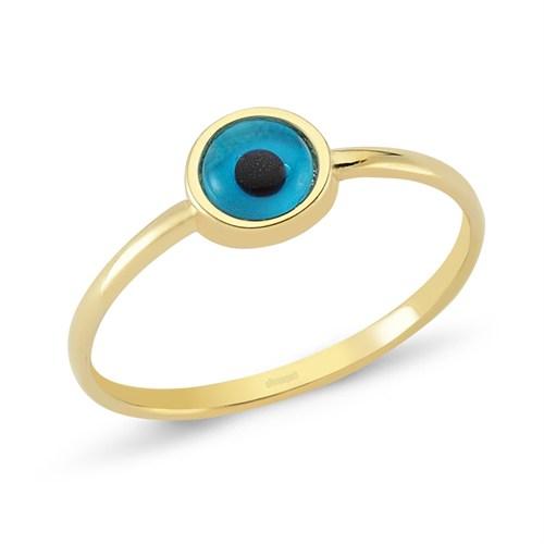 Altınsepeti Altın Boncuk Göz Yüzük As187yz