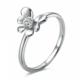 Chavin Kelebek Üzerine 0,05 carat Pırlanatalı Gümüş Yüzük cc98