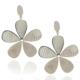 Chavin Çiçek Çelik Küpe be71