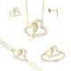 Melis Gold Gümüş Mini Set Gds0014