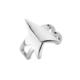 Argentum Concept Yıldız Motifli Gümüş Kıkırdak Küpe