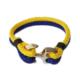 Myfavori Bileklik Sarı Lacivert Örgü Bileklik Takı Aksesuar