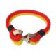 Myfavori Bileklik Sarı Kırmızı Örgü Bileklik Takı Aksesuar