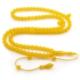 Anı Yüzük Mini Boy 99'luk Küre Kesim Sarı Sıkma Kehribar Tesbih