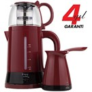 King K-8288 Duo Set  Çay & Kahve  Makinesi Seti