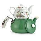 Schafer Teerose Porselen Çaydanlık 25887