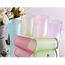 Mos'Ev 6'lı Buzlu 6 Renk Kahve Yanı Su Bardağı