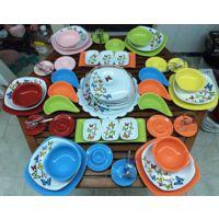 Keramika 65 Parça 6 Kişilik Dans Of Butter Fly Yemek Ve Kahvaltı Takımı