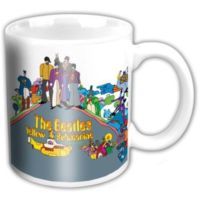 Rock Off The Beatles Yellow Submarine Album Mini Kupa Bardak