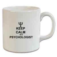 XukX Dizayn Keep Calm Psikolog Kupa