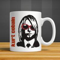 İf Dizayn Kurt Cobain Baskılı Kupa Bardak
