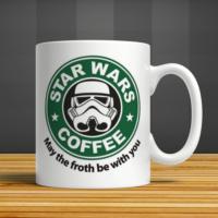 İf Dizayn Star Wars Coffee Baskılı Kupa Bardak