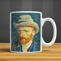 İf Dizayn Van Gogh Baskılı Kupa Bardak