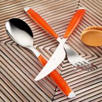 Kütahya Porselen 30 Parça Çatal Kaşık Bıçak Seti Turuncu