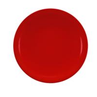 Kütahya Porselen Zeugma Servis Tabağı Kırmızı