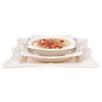 Evon Elanor Yemek Takımı - Krem