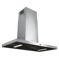 Franke Maris T-Shape - Fgb 906 W Ac Stainless Steel-Glass Black Davlumba