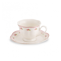 Karaca Pink Flower 6Lı Kahve Seti Hd-G04-Ccs