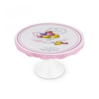 Karaca Cupcake Point Ayaklı Porselen Kek Standı