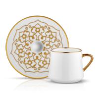 Koleksiyon Sufı Çay Fıncan Seti 6Lı Motıf