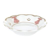 LoveQ Porselen New Kaftan Pink Çay Tabağı