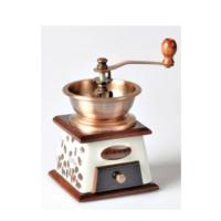 Coffee Mill Nostaljik Görünümlü Seramik Gerçek Kahve Değirmeni