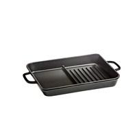 Hecha Grill Plate Hybrid Siyah 27X33