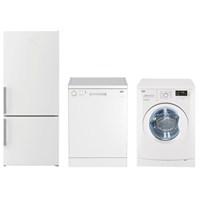 Beko Beyaz Eşya Paketi 2(B 9470 NMN 480 Lt Buzdolabı + D7 7101 7 Kg çamaşır Makinesi + BM 3003 3 Program Bulaşık Makinesi)