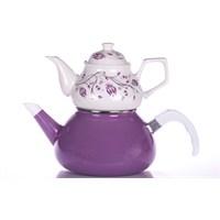 Evon Lale Çaydanlık - Mürdüm