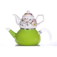 Evon Lale Çaydanlık - Yeşil