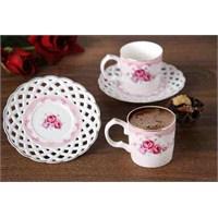 LoveQ 2'Li Porselen Kahve Seti