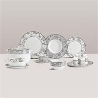 Güral Porselen Prestige Bone 86 Parça Yemek Takımı 720713