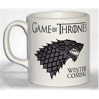 Köstebek Game Of Thrones Winter İs Coming Kupa