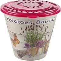 Alper Desenli Patates - Soğan Sepeti - Pembe