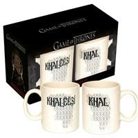Sd Toys Game Of Thrones Khal Ve Khaleesi 2 Mugs Set Bardak