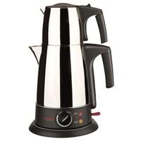 Arnica Demly Paslanmaz Çelik Çay Makinesi Parlak