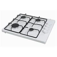 Luxell LX-420 F Beyaz 4 Gözü Gazlı Setüstü Ocak-LPG