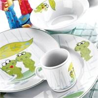 Kütahya Porselen 4086 Desenli Kurbağacık Mama Takımı