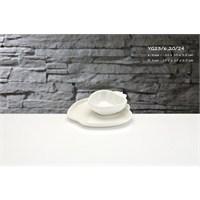iHouse Yg23 Porselen 2 Li Elma Kase Beyaz