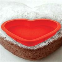 BlueZen Kalpli Silikon Kek Kalıbı